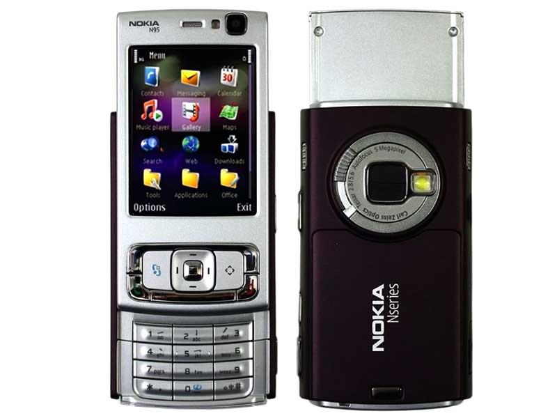 Краткий обзор мобильного телефона Nokia N95