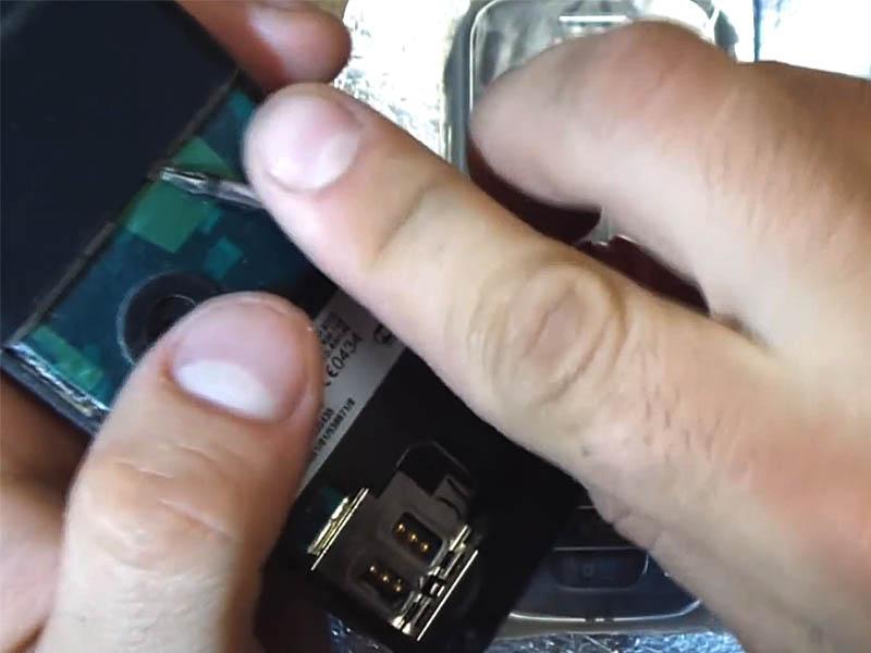 Nokia 6233: замена корпуса